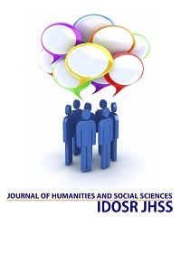 IDOSR JOURNAL OF HUMANITIES AND SOCIAL SCIENCES (IDOSR JHSS